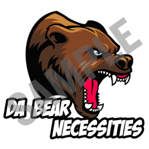 Da Bear Necessities fantasy football team logo