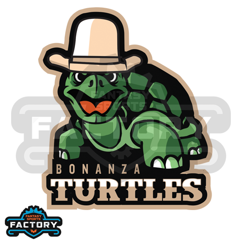 Bonanza Turtles Fantasy Football Logo