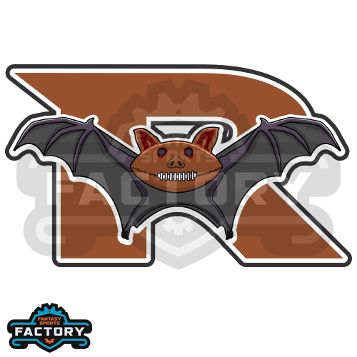 R-Bats Custom Fantasy Football Logo