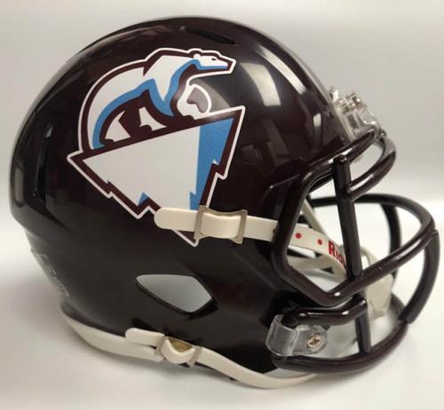 Toronto Tundra fantasy football mini helmet