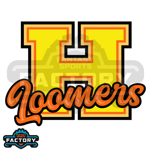 Honeyloovers custom fantasy football logo