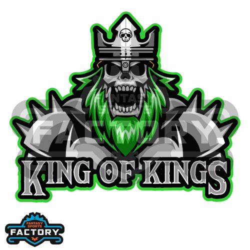 King of Kings custom fantasy football logo