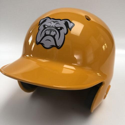 Billy's Brah-Dogs Fantasy Baseball Mini Helmet