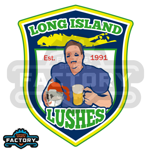 Long Island Lushes Custom Fantasy Football Logo