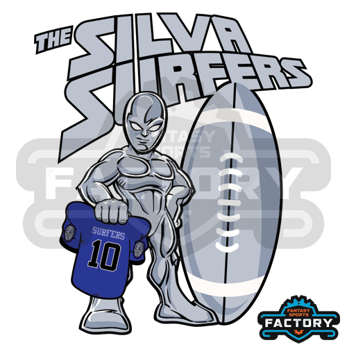 The Silva Surfers custom logo