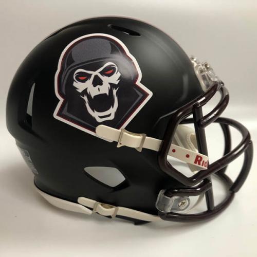 Yannick Club custom fantasy football mini helmet